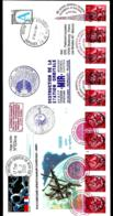 "DESTRUCTION DE LA STATION ORBITALE ""MIR"" 23-03-2001 - KOROLEV - RUSSIE -  PARLEMENT EUROPÉEN - UdSSR"