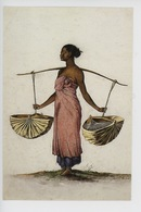 Nicolas-Martin Petit : Timor (Indonésie) Canda Revenant De La Fontaine (paniers D'eau, Baton De Bois) 1800/1804 - Timor Oriental