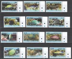 WW757 2013 PENRHYN FAUNA FISH & MARINE LIFE !! #718-29 MICHEL 70 EURO 1SET MNH - Meereswelt