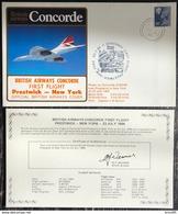 Premier Vol - Concorde - British Airways - Prestwick - New York - 1984 - Concorde
