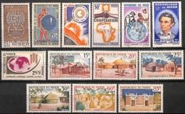 [828163]TB//**/Mnh-Niger 1962-64 - Tb Lot **/mnh, Insectes, Maladies, Santé, SC - Niger (1960-...)
