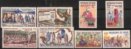 [828164]TB//**/Mnh-Niger 1965 - N° 158/61 + 169/72, Promotion Humaine, 2 SC - Niger (1960-...)