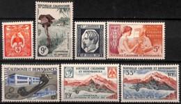 [828380]TB//**/Mnh-Nouvelle-Calédonie 1960 - N° 295/301, 100 Ans De La Poste Et Du Timbre, Téléphone, SC - Neufs