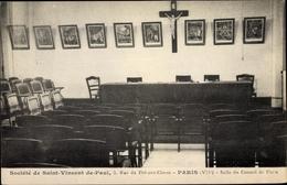 Cp Paris VIII., Société De Saint Vincent De Paul, 5 Rue Du Pré Aux Clercs, Salle Du Conseil - Other