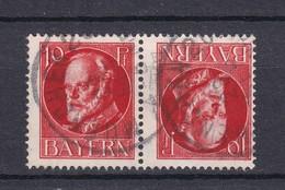 Bayern - 1914/16 - Michel Nr. K 4 A - Gest. - Bavaria