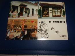 Cpsm Cote D Or   Dijon  Restaurant Le  Mandarin Rue D Auxonne   Rare - Dijon