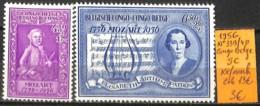 [836142]TB//**/Mnh-c:13e-Congo Belge        1956 - N° 339/40, Mozart, Série Complète, Musique - 1947-60: Neufs