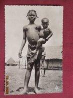 CPSM - Région De Brazzaville - Jeune Fille Et Enfant Bacongo - Brazzaville