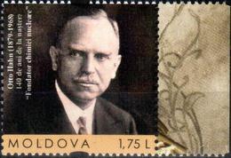 Moldova 2019 Otto Hahn (1879 – 1968) Of The Founder Nuclear Chemistry 1v Quality:100% - Moldova
