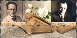 "Moldova 2020 "" Erwin Schrödinger & Wolfgang Pauli. Austrian & Swiss Theoretical Physicists"" 2v Zf Quality:100% - Moldova"