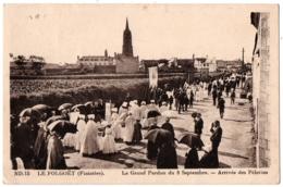 CPA 29 - LE FOLGOET (Finistère) - ND.15. Le Grand Pardon. Arrivée Des Pélerins - Le Folgoët