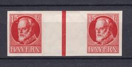 Bayern - 1917 - Michel Nr. WZ 12 B  - Ungebr. - Bavaria