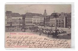 DC46 - AK Dresden, Altmarkt Mit Frauenkirche - Dresden