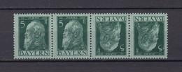 Bayern - 1911/12 - Michel Nr. K 1 A - Postfrisch - Bavaria