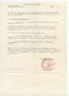 !!! PRIX FIXE: GUERRE D'ALGERIE, DOCUMENT DE L'ALN DU 12/4/1959 RECUPERE PAR UNE OPERATION MILTAIRE - Guerra D'Algeria