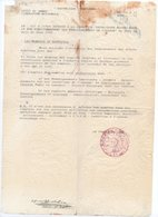 !!! PRIX FIXE: GUERRE D'ALGERIE, DOCUMENT RECUPERE PAR UNE OPERATION MILTAIRE REGION EL MILIA - Guerra D'Algeria