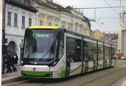 Tram Type Skoda ForCity Classic 26T No 613 Of Miskolc Transport Co In 2015  -  CPM - Strassenbahnen