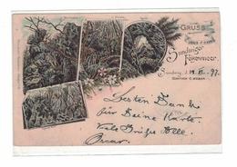 DC50 - Hemer Gruss Aus Dem Sundwiger Felsenmeer Sundwig Gasthof Weber 1887 - Hemer