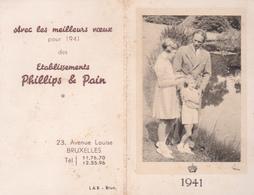 Calendrier 1941 - Petit Format - Léopold III Et Ses Enfants - Calendriers