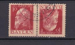 Bayern - 1911/12 - Michel Nr. K 2 A - Gest. - 75 Euro - Bavaria