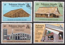 British Solomon Islands Used Set - Churches & Cathedrals