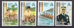 British Solomon Islands Used Set - Royalties, Royals