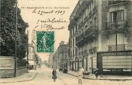 VAL D'OISE  ARGENTEUIL    Rue Nationale - Argenteuil