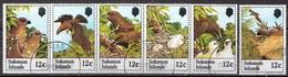British Solomon Islands Used Set - Birds
