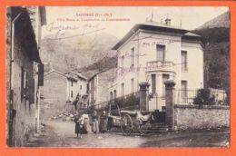 Car604 SAHORRE (66) Villa MARIA Coopérative Consommation 1915 à VILAREM Hopital Auxiliaire Rue Saint-Loup Bayeux -FAU - Autres Communes