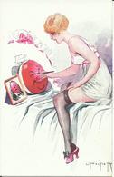 NU De L' Illustrateur L. PELTIER , Oeufs De Pâques Parisiens N° 106 - Dessins