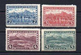 CZECHOSLOVAKIA 1926 , MNH , NO WATERMARK  , 2K MLH - Ungebraucht