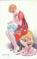 NU De L' Illustrateur L. PELTIER , Oeufs De Pâques Parisiens N° 107 - Drawings