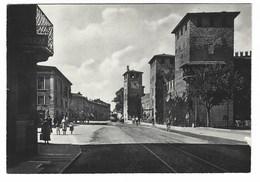 3719 - VERONA CASTELLO SCALIGERO ANIMATA 1940 CIRCA - Verona