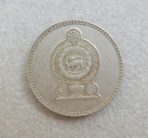 Monnaie Du Sri Lanka—50 Cents—Roupie—1975—#1 - Sri Lanka