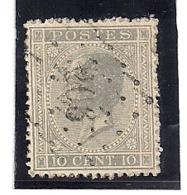 17-LP206-LANDEN - 1865-1866 Profil Gauche