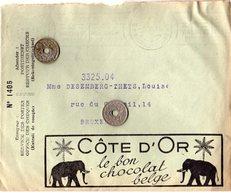 Côte D'Or Le Bon Chocolat Belge - Loterie Coloniale - Publicités