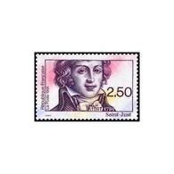 Timbre N° 2703 Neuf ** - Bicentenaire De La Révolution Française. Saint Just (1767-1794). - France