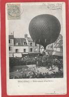 CPA: Ballon - Meru (Oise) Enlévement D'un Ballon - Balloons