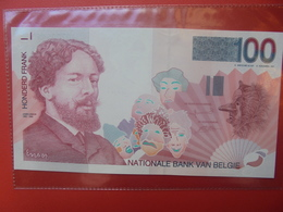 BELGIQUE 100 FRANCS 1995-2001 BELLE QUALITE CIRCULER - [ 2] 1831-... : Regno Del Belgio