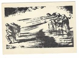 3727 - CARTOLINA ASSO DI BASTONI SERIE DUX N° 5 PATTI LATERANENSI VATICANO MUSSOLINI 1929 - Guerra 1939-45
