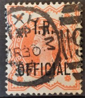 GREAT BRITAIN 1888 - Canceled - Sc# O11 - IR Official 0.5d - Servizio