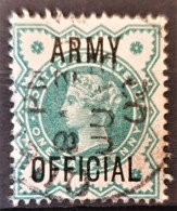 GREAT BRITAIN 1900 - Canceled - Sc# O57 - Army Official 0.5d - Servizio