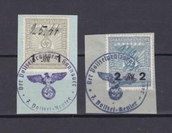 Deutsches Reich - 1944 - Staatliche Polizei - Gest. - Gebraucht