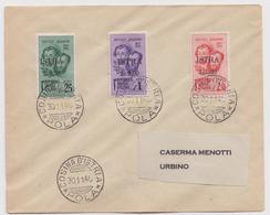 Serie Fratelli Bandiera Annullo (di Favore) Cosina D'Istria - Marcophilia
