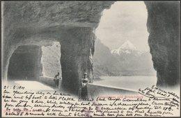 Axenstrasse Und Bristenstock, 1901 - Photoglob AK - UR Uri