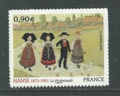 France Autoadhésifs N° 370 XX  Série Artistique :  Hansi Sans Charnière, TB - Sellos Autoadhesivos