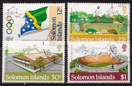British Solomon Islands Used Set - Summer 1984: Los Angeles