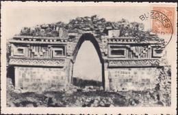 CPA - Mexico / Mexique - Yucatan - Arco De Labnà  - 1948 - Mexique