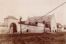 1894 Photo De Waterlo Ferme De La Haie Sainte - Ancianas (antes De 1900)
