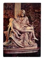 Carte Rome Basilique La Pieta Flamme Cité Sur Annee Vierge - Otros Monumentos Y Edificios